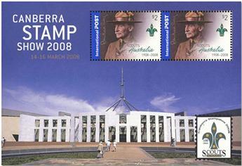 n° 104A - Timbre AUSTRALIE Blocs et feuillets