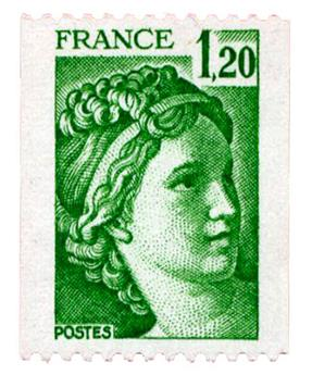 n°2103b** - Timbre FRANCE Poste