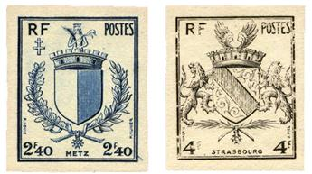 n°734/735* ND - Timbre FRANCE Poste