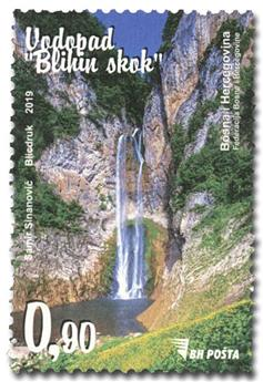 n° 817 - Timbre BOSNIE-HERZEGOVINE Poste