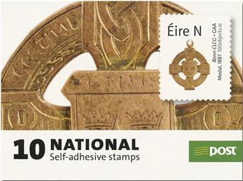 n° C2297 - Timbre IRLANDE Carnets