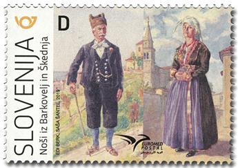 n° 1155 - Timbre SLOVENIE Poste