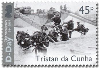 n° 1224/1227 - Timbre TRISTAN DA CUNHA Poste
