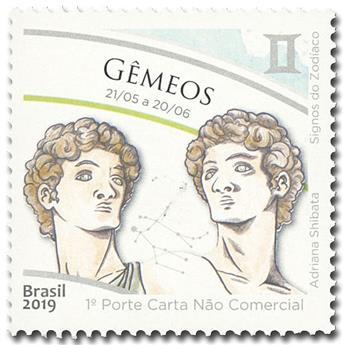 n° 3731 - Timbre BRESIL Poste