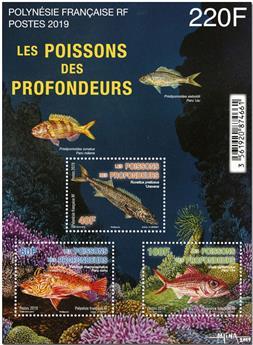 n° 50 - Timbre Polynésie Blocs et feuillets