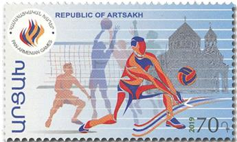 n° 160/163 - Timbre ARMENIE (Haut-Karabakh) Poste