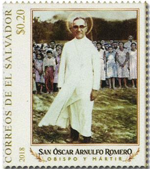 n° 1920/1923 - Timbre SALVADOR Poste