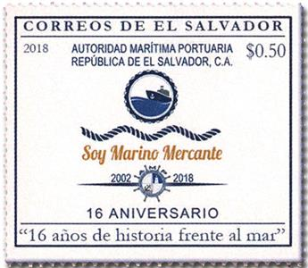 n° 1925 - Timbre SALVADOR Poste