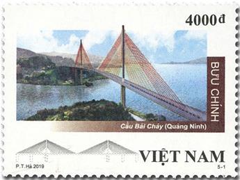 n° 2586/2590 - Timbre VIETNAM Poste