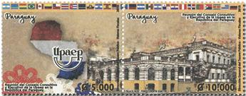 n° 3285/3286 - Timbre PARAGUAY Poste