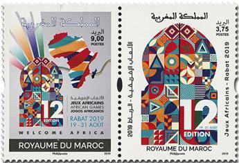 n° 1845/1846 - Timbre MAROC Poste