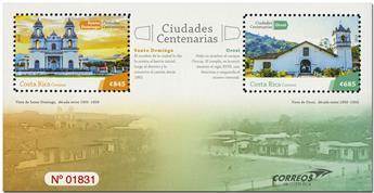 n° 73 - Timbre COSTA RICA Blocs et feuillets