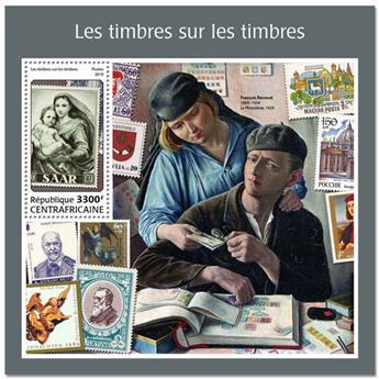 n° 1253 - Timbre CENTRAFRICAINE Blocs et feuillets
