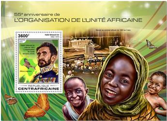 n° 1278 - Timbre CENTRAFRICAINE Blocs et feuillets