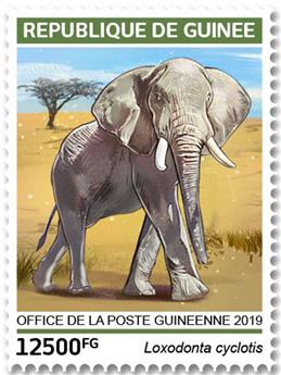 n° 9701/9704 - Timbre GUINÉE Poste