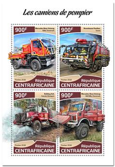 n° 5591/5594 - Timbre CENTRAFRICAINE Poste