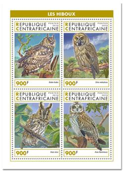 n° 6024/6027 - Timbre CENTRAFRICAINE Poste