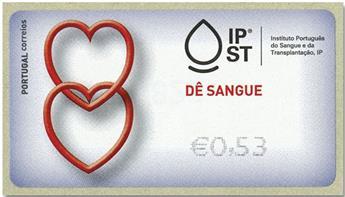 n° 232 - Timbre PORTUGAL Timbres de distributeurs