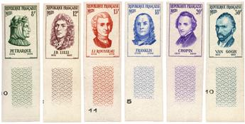 n°1082/1087** ND - Timbre FRANCE Poste