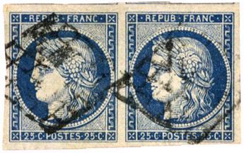 n°4 obl. TB - Timbre FRANCE Poste
