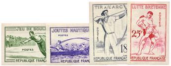 n°1161/1164** Essais - Timbre FRANCE Poste
