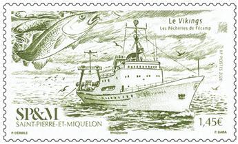 n° 1234 - Timbre Saint-Pierre et Miquelon Poste