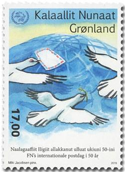 n° 801 - Timbre GROENLAND Poste