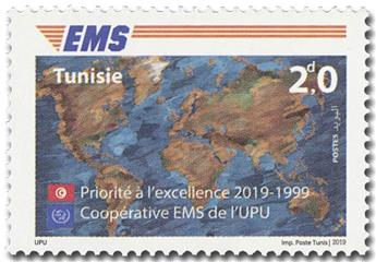 n° 1901 - Timbre TUNISIE Poste
