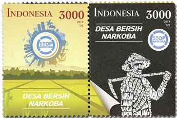 n° 2978/2979 - Timbre INDONESIE Poste