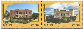 n° 1987/1988 - Timbre MALTE Poste
