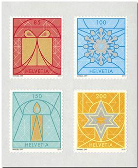 n° 2559/2562 - Timbre SUISSE Poste