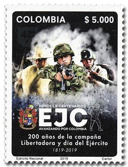 n° 2003 - Timbre COLOMBIE Poste