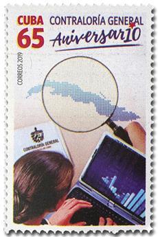 n° 5821 - Timbre CUBA Poste