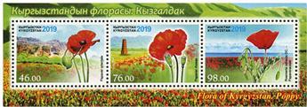 n°90 - Timbre KIRGHIZISTAN (Poste Kirghize) Blocs et feuillets