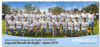 n°2955 - Timbre URUGUAY Poste