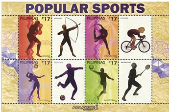 n°4198/4201 - Timbre PHILIPPINES Poste