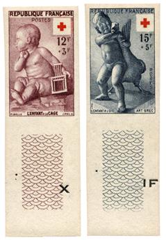 n°1048/1049** ND - Timbre FRANCE Poste