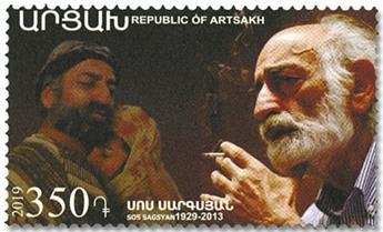 n° 169 - Timbre ARMENIE (Haut-Karabakh) Poste