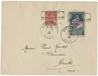 France : n°412, 440 obl. sur lettre