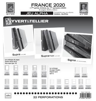 FRANCE ALPHA : 2020 - 1ER SEMESTRE (Sans pochettes)