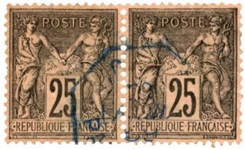 n°97 obl. TB - Timbre FRANCE Poste