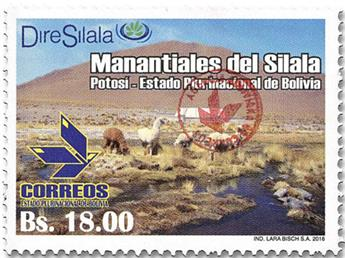 n° 1638 - Timbre BOLIVIE Poste