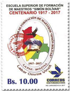 n° 1643 - Timbre BOLIVIE Poste
