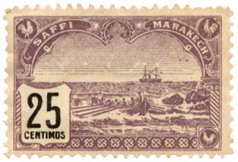 n°101* - Timbre MAROC PL SAFKI A MARRAKECH Poste