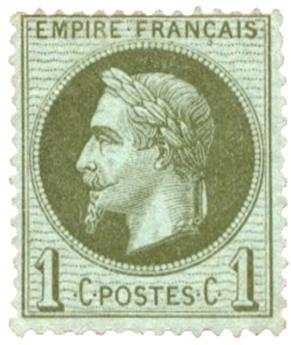 n°25(*) - Timbre FRANCE Poste