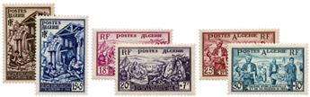 n°319/324* - Timbre ALGERIE Poste