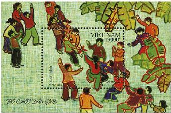 n° 168 - Timbre VIETNAM Blocs et feuillets
