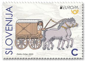 n° 1198/1199 - Timbre SLOVENIE Poste