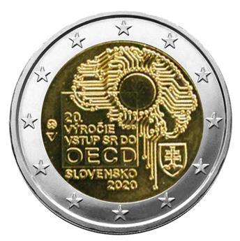 2 EURO COMMEMORATIVE 2020 : SLOVAQUIE (20 ans adhésion à l´OCDE)
