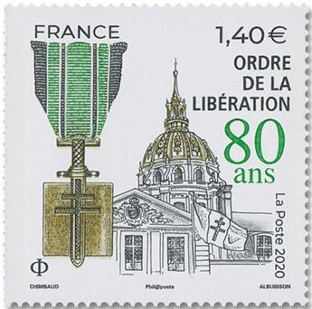n° 5458 - Timbre FRANCE Poste
